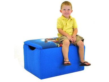 Kidz World Furniture Iron Man Storage Box 1400-Storage Box-Iron Man