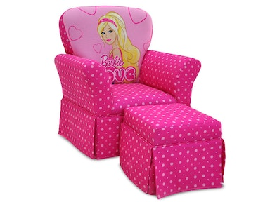 Kidz World Furniture Barbie Skirted Rocker 1920-Skirted Rocker-Barbie