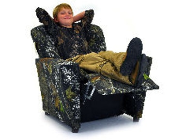 Kidz World Furniture Mossy Oak Tween Recliner 2300-Recliner-Mossy Oak