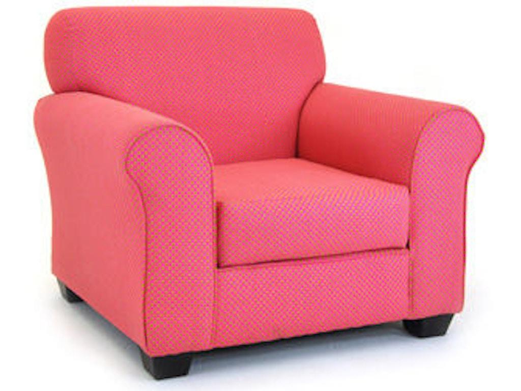 Kidz world furniture youth tween club chair 1950 club for Furniture world