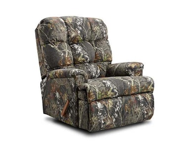 Kidz World Furniture Mossy Oak Rocker Recliner 4500-Rocker Recliner-Mossy Oak