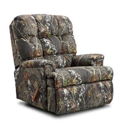Kidz World Furniture Mossy Oak Rocker Recliner 4500 Rocker Recliner Mossy  Oak