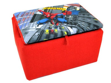 Kidz World Furniture Spiderman Storage Box 1400-Storage Box-Spiderman