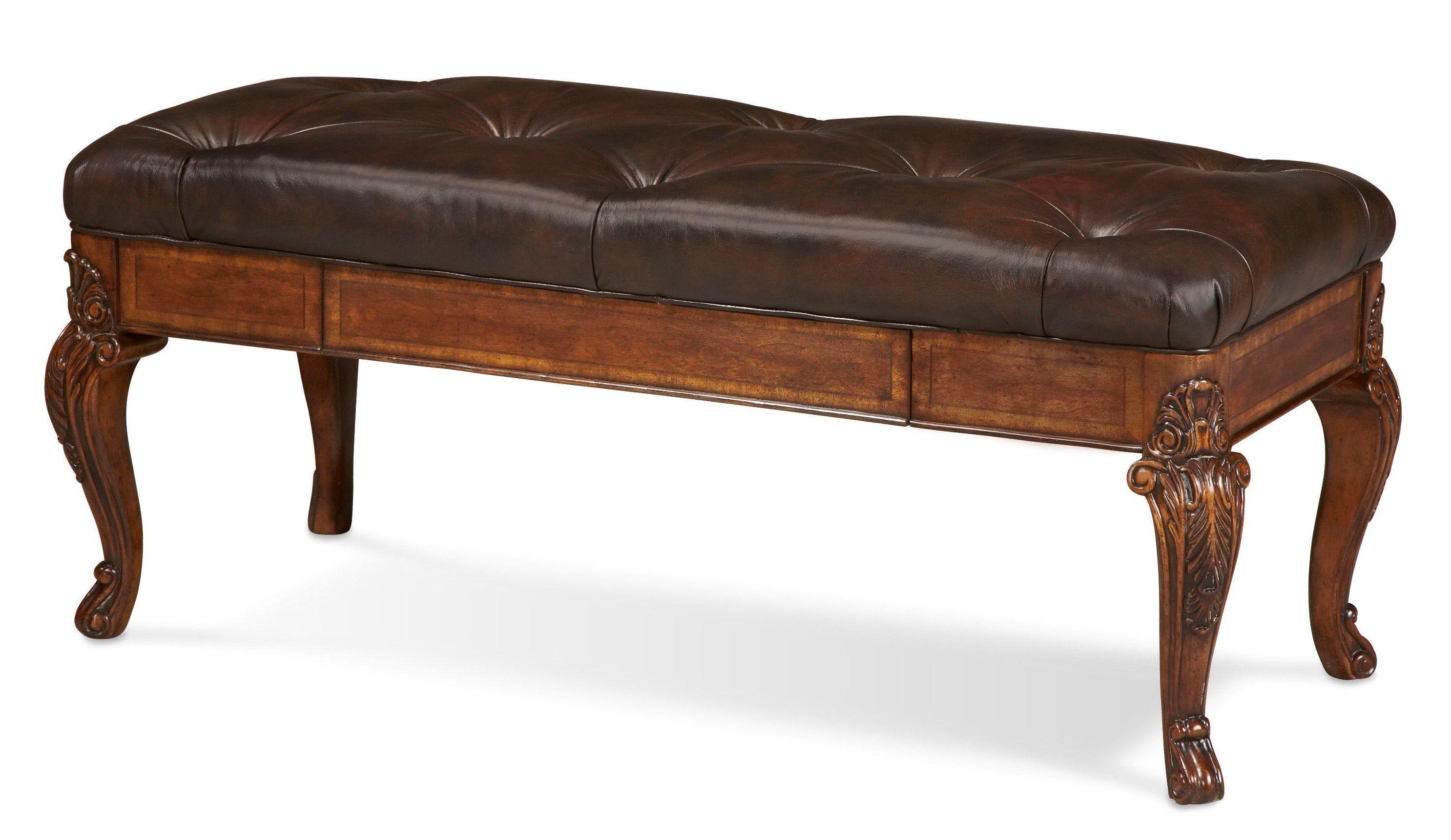 ART Furniture Storage Bench  Leather 143149 2606