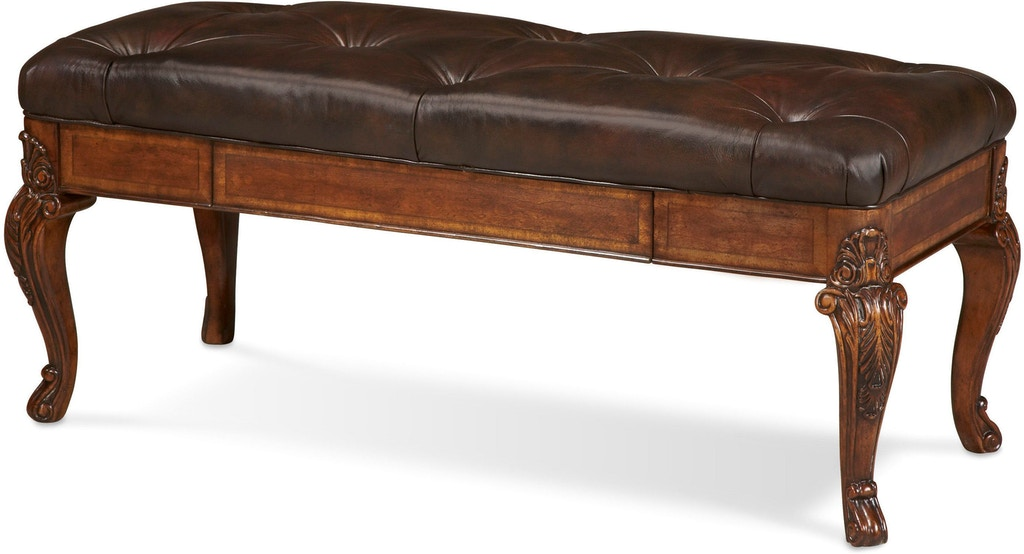 ART Furniture Bedroom Storage Bench- Leather 143149-2606 ...