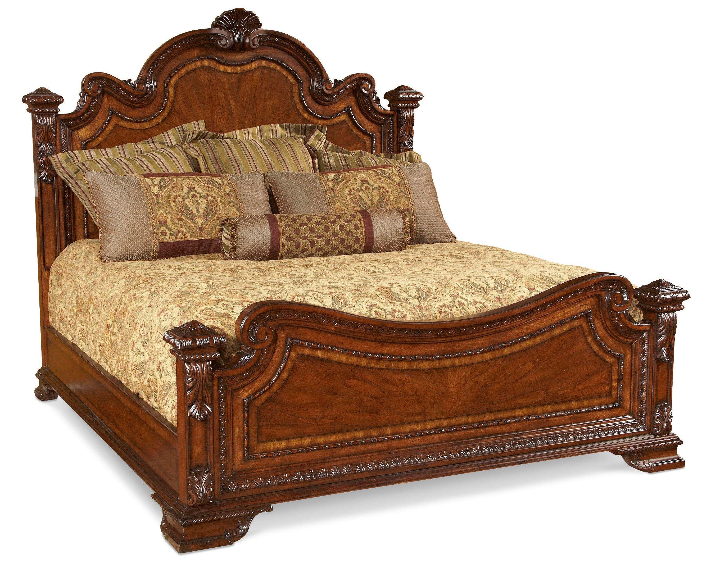 Art Furniture Bedroom 6 0 California King Estate Bed 143157 2606
