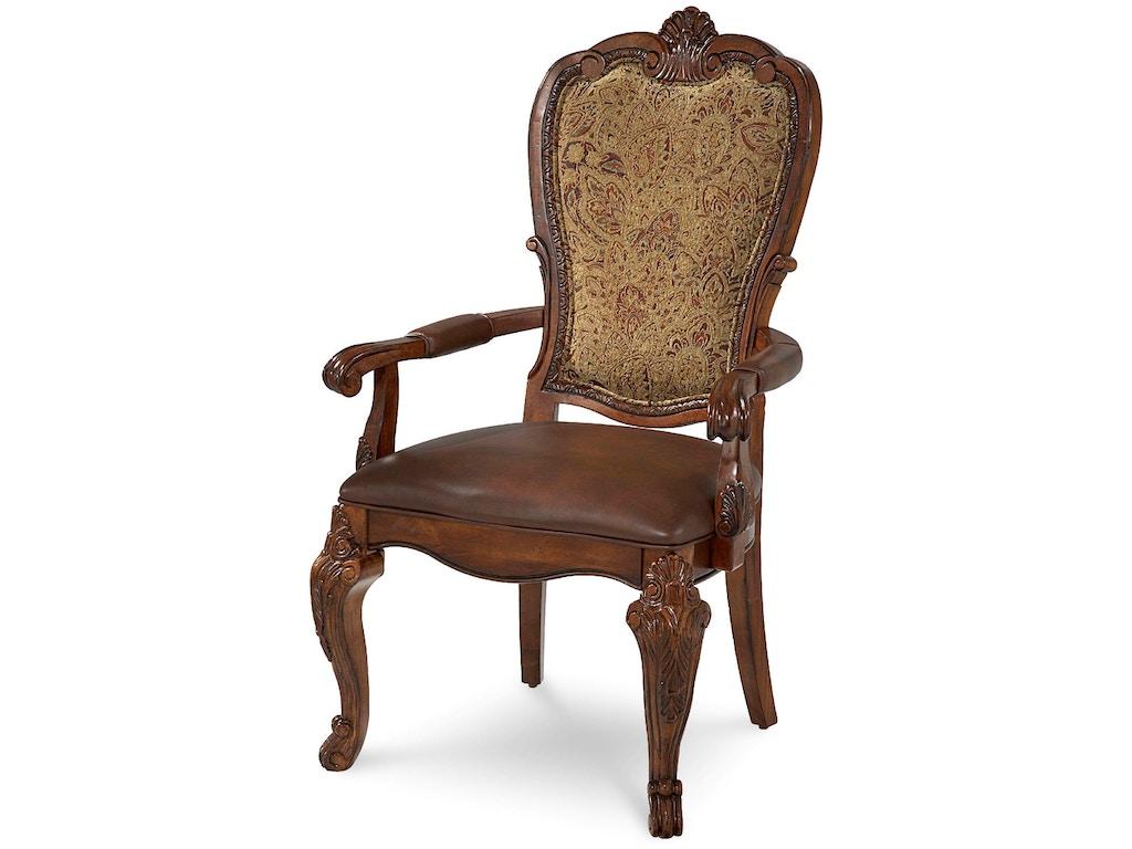 Art Furniture Dining Room Upholstered Back Arm Chair 143207 2606 Elements For Design Denver