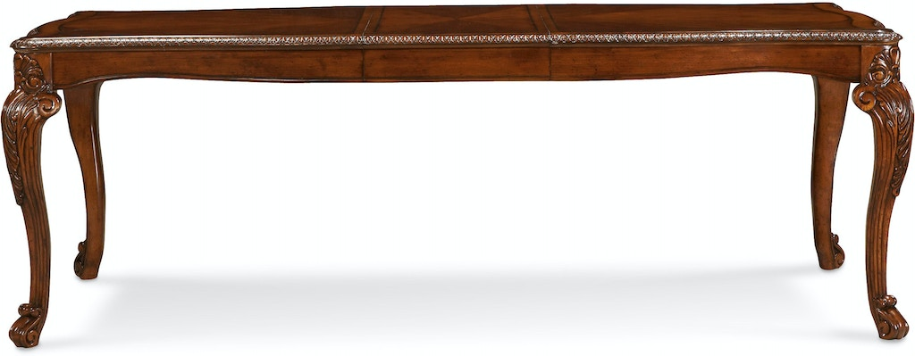 Art Furniture Dining Room Leg Dining Table 2 18in Leafs 143220 2606 Carol House Furniture