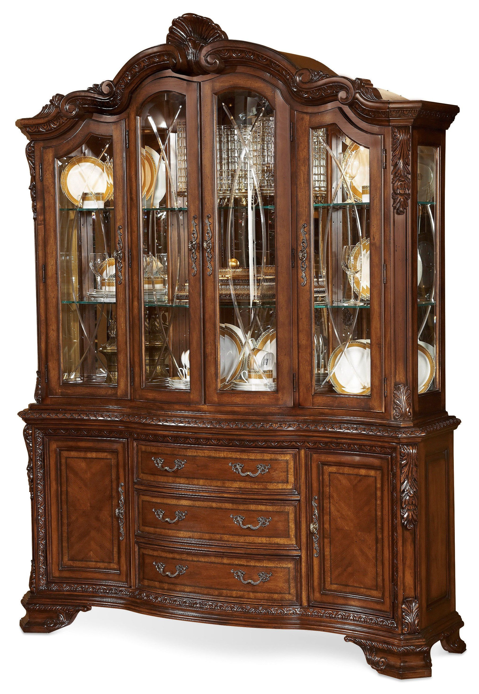 ART Furniture China Cabinet Set 143241 2606