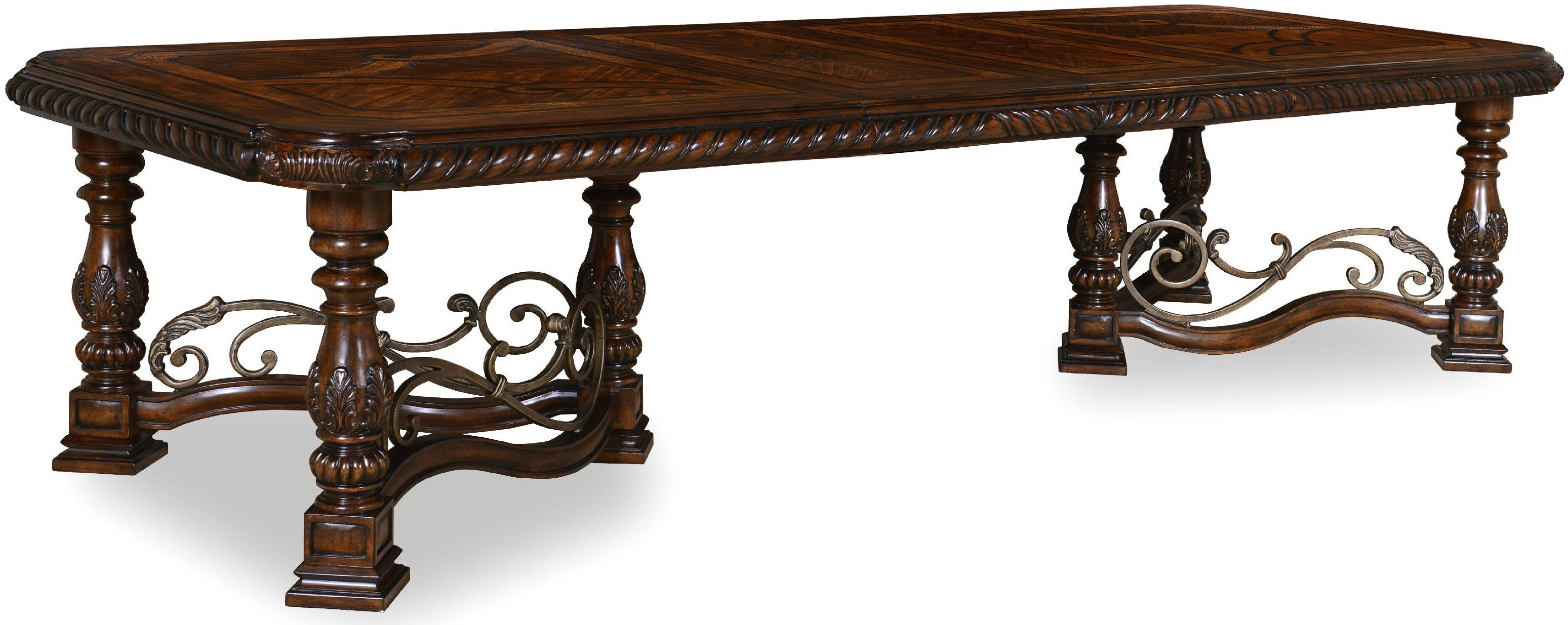 ART Furniture Dining Room Trestle Dining Table 209221 2304  : 209221 2304sl1 from www.shofers.com size 768 x 576 jpeg 28kB