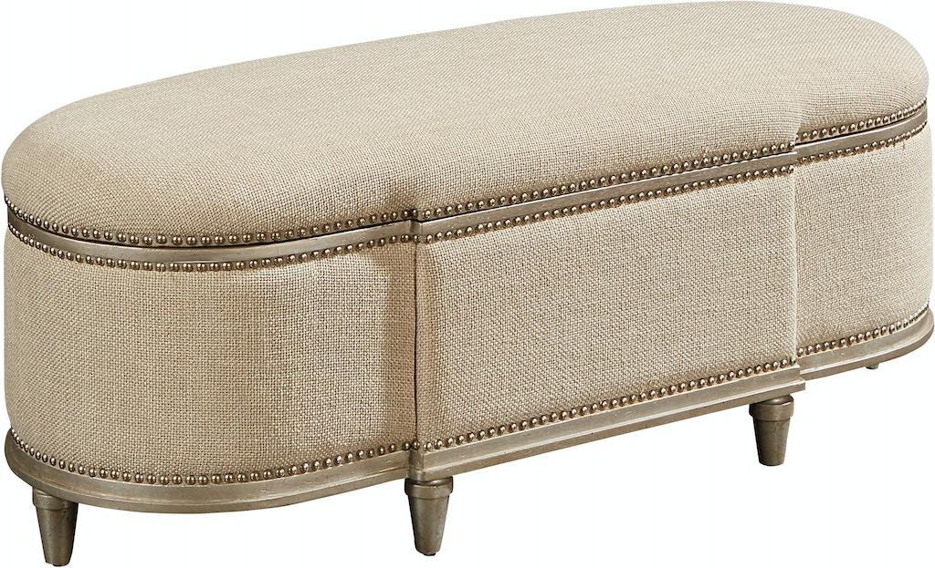 Fantastic Art Furniture Bedroom Rhodes Storage Bench Bezel 218149 Lamtechconsult Wood Chair Design Ideas Lamtechconsultcom