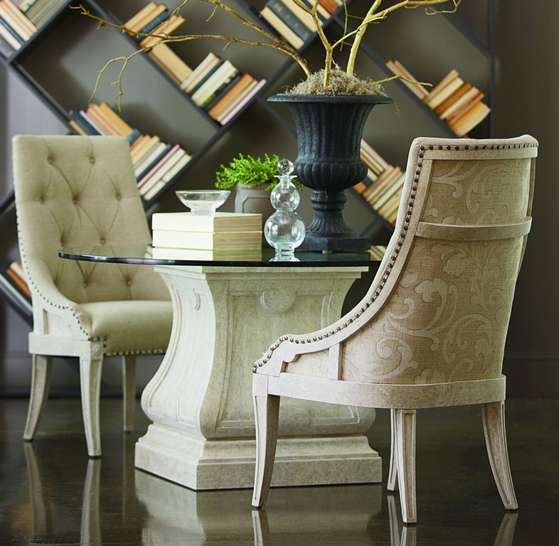 Art Furniture Dining Room Round 54in Glass Top 100225 110054