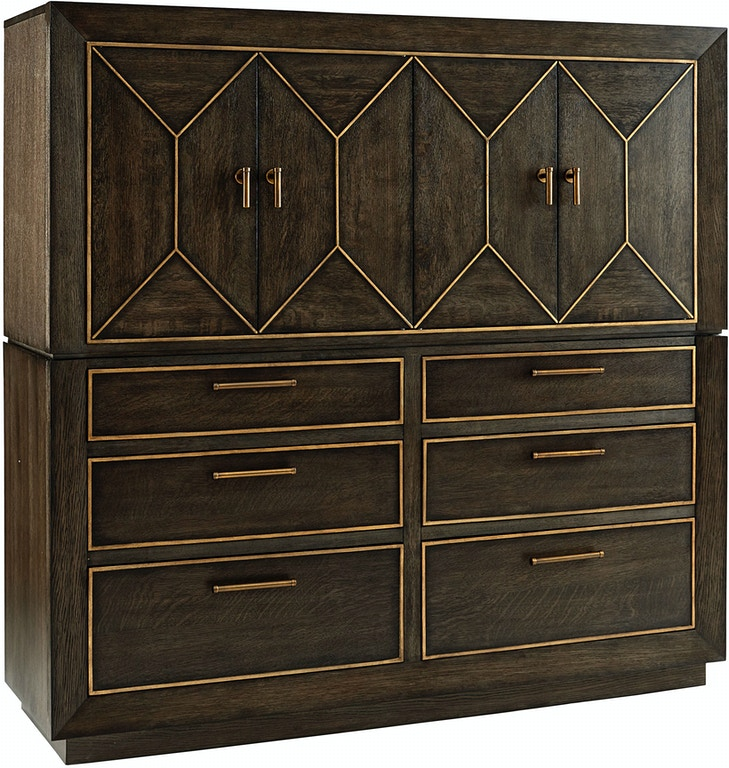 ART Furniture Bedroom Ennis Master Chest TOP 253152-2315TP ...