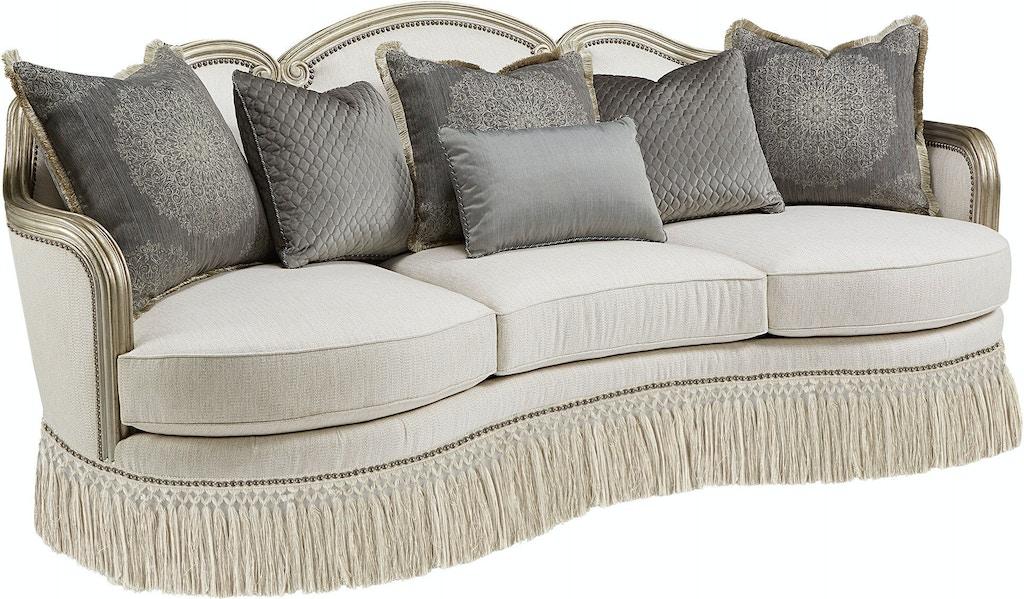 Art Furniture Living Room Giovanna Bezel Sofa 509501