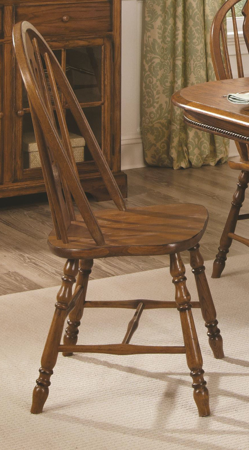Brooks Furniture Dining Room Sweetheart Oak Chair 0618 14 Sides
