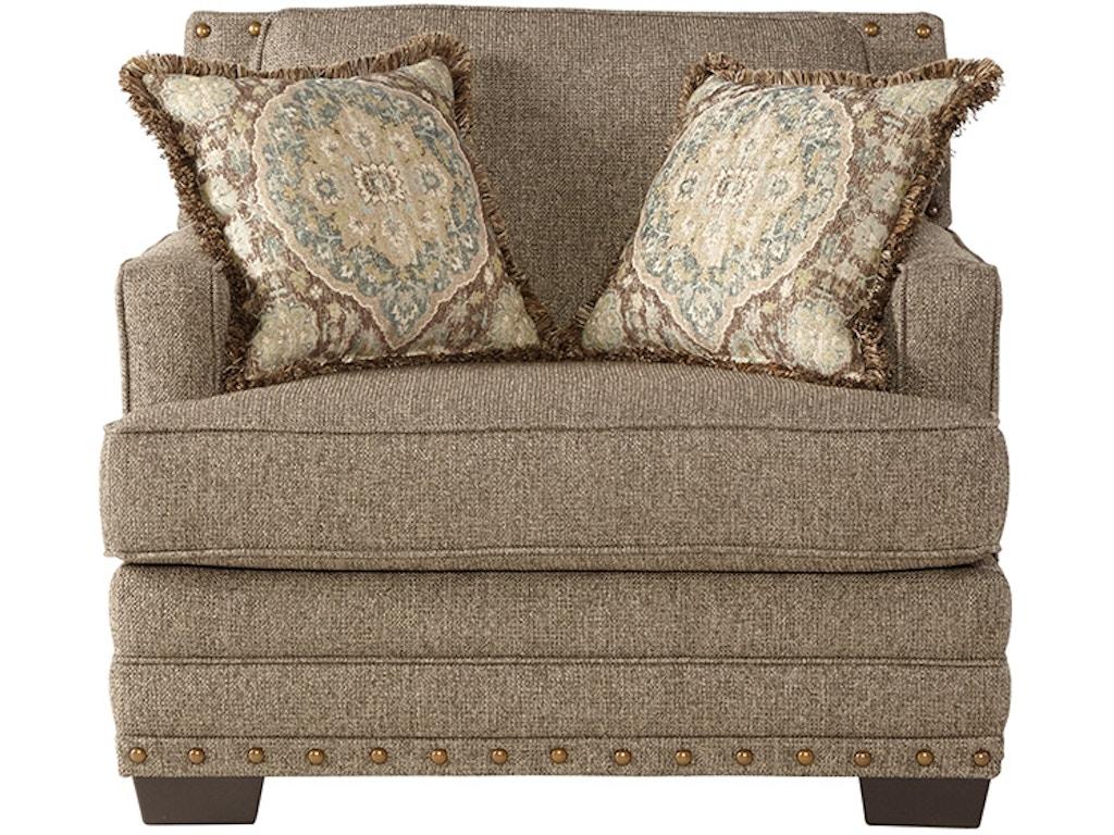 Hughes Furniture Living Room Cuddle Chair 10100cc Arthur F Schultz