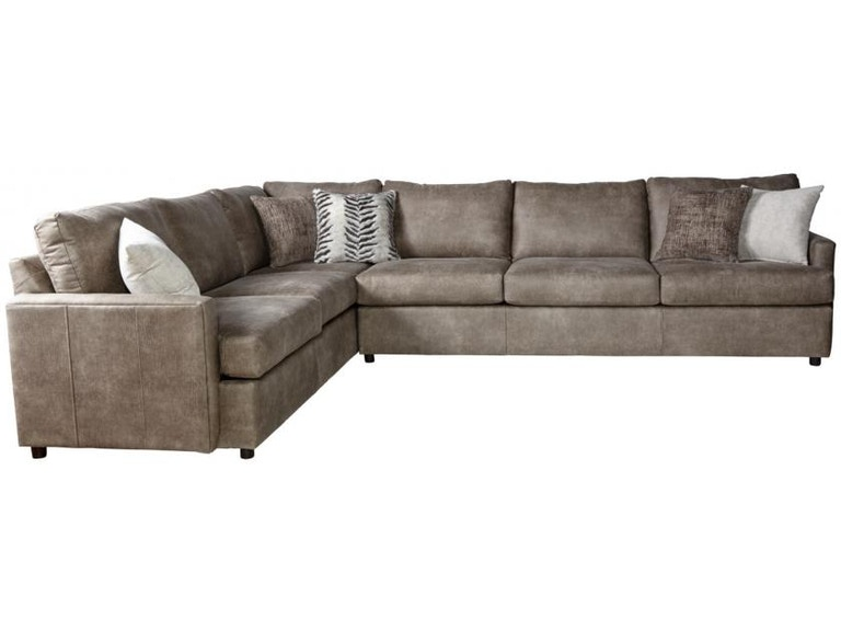 Hughes Furniture Living Room 10800 Sectional - Winner Furniture ...