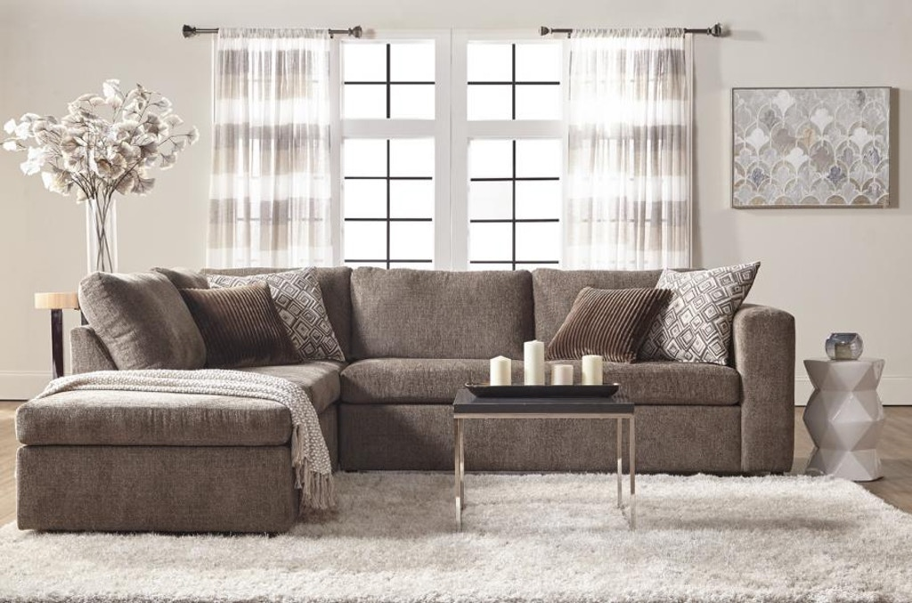 Hughes Furniture Living Room 1100 Sectional Carol House