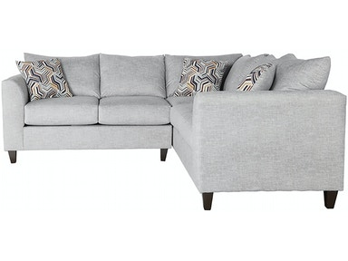 Hughes Furniture 2100 Serta Sectional 2100 Sectional