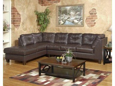 Hughes Furniture Sectional 2500-Sectional