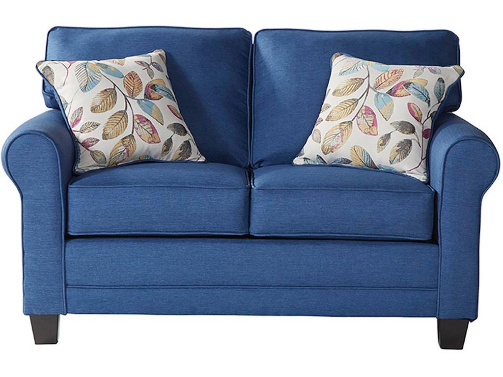 Hughes Furniture Living Room Loveseat 3700ls Arthur F
