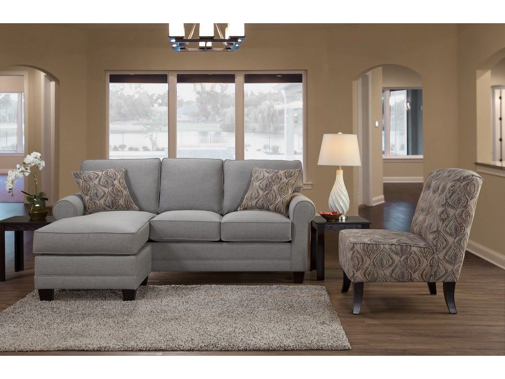 Hughes Furniture Living Room Sofa Chaise 3730sch Carol House Furniture Maryland Heights And