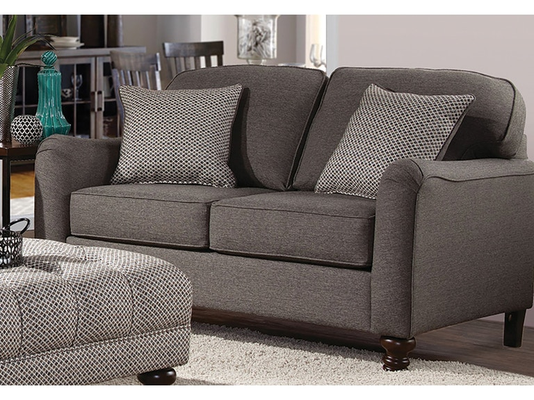Hughes Furniture Living Room Loveseat 4050ls Haynes Brothers Volusia County
