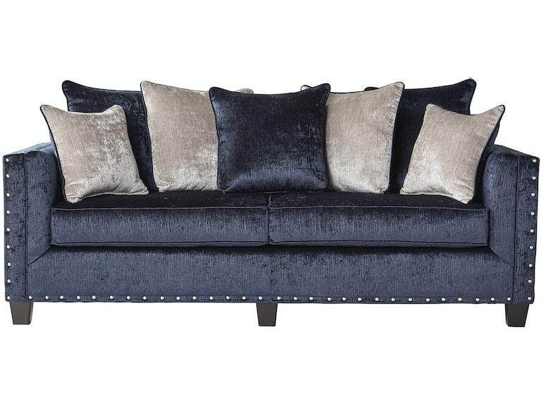 Hughes Furniture Living Room Sofa 4885s At Haynes Brothers