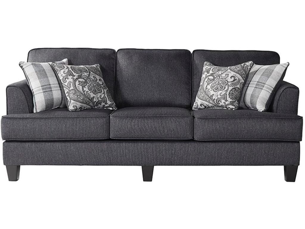 Hughes Furniture Living Room Sofa 8S - Valeri Furniture