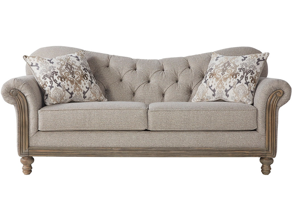 Hughes Furniture Living Room Sofa 8725s Carol House Furniture Maryland Heights And Valley