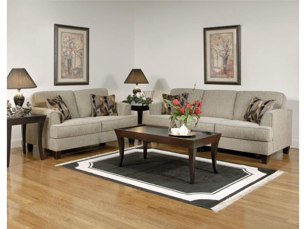 Hughes Furniture Living Room Sofa 5600s Carol House Furniture Maryland Heights And Valley