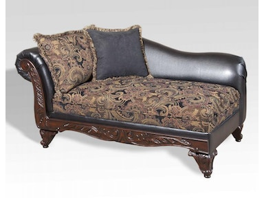 Hughes Furniture Chaise 7685FRCHS