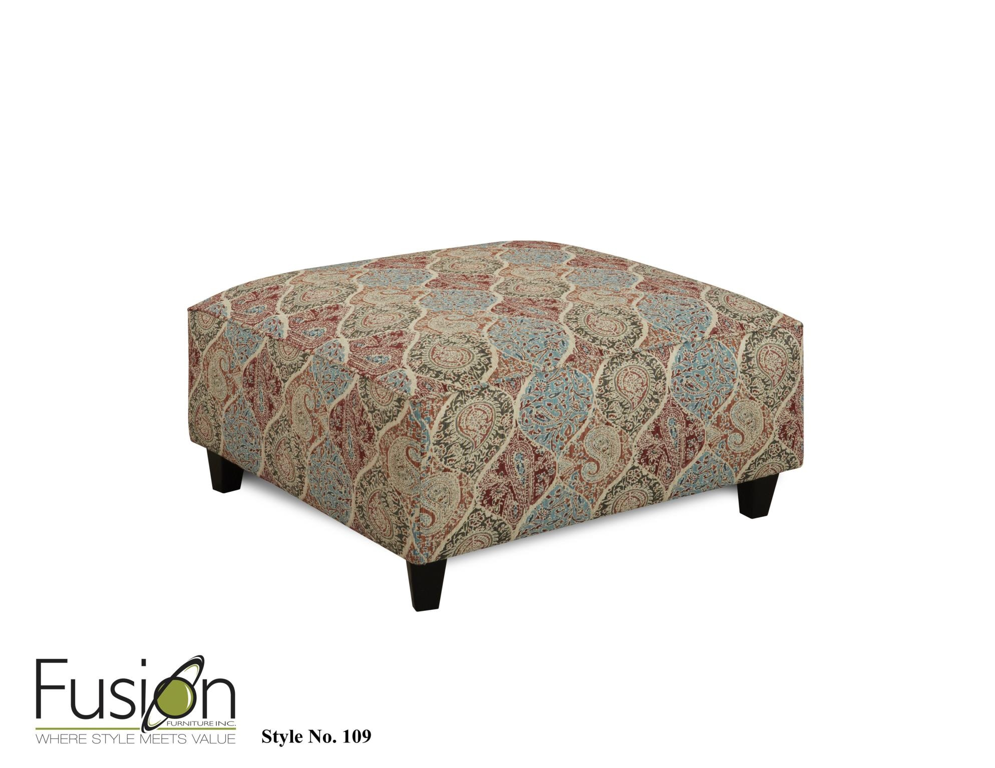 Fusion Cocktail Ottoman 109BILTMORE HEATHER At Gustafsonu0027s Furniture And  Mattress