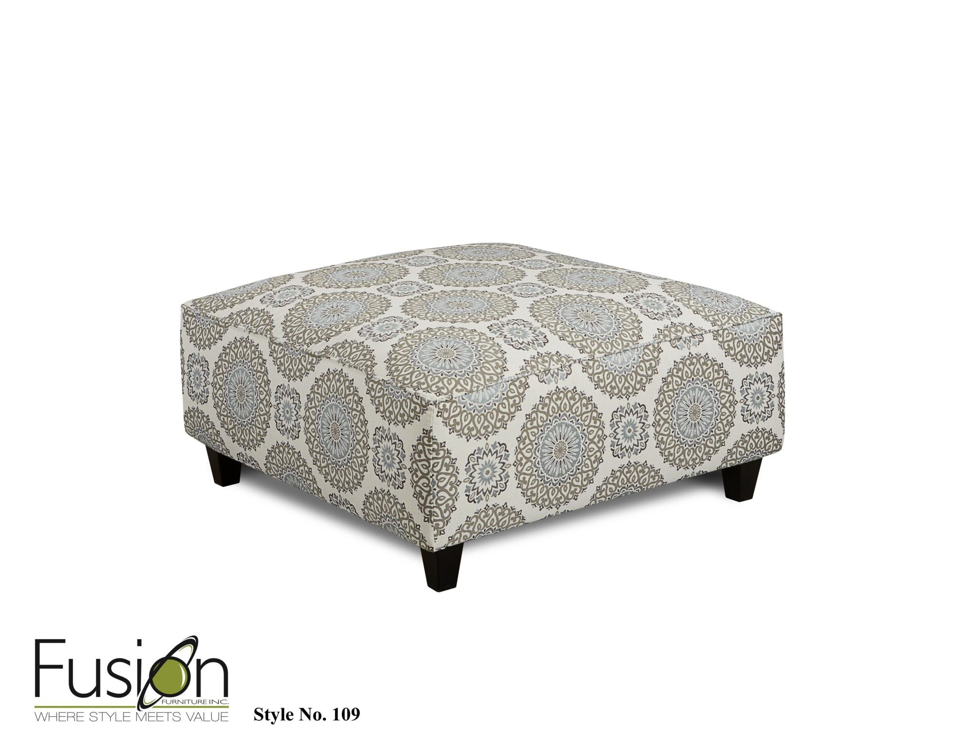 Fusion Cocktail Ottoman 109BRIANNE TWILIGHT