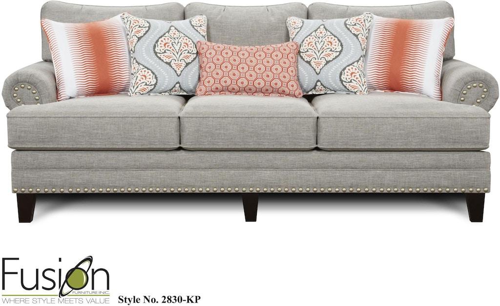 Fusion Living Room Sofa 2830 Kpparadigm Quartz Furniture