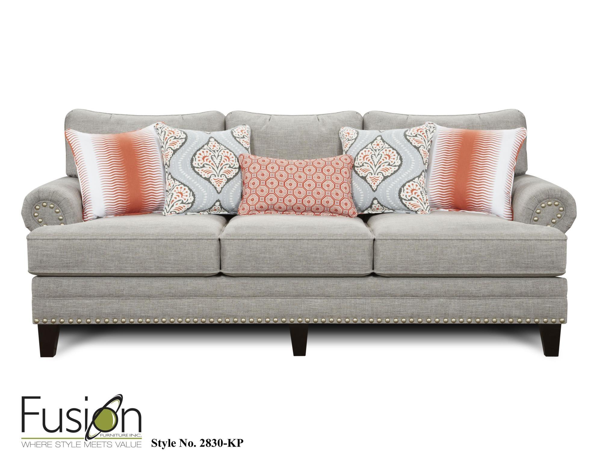 Perfect Fusion Sofa 2830 KPPARADIGM QUARTZ