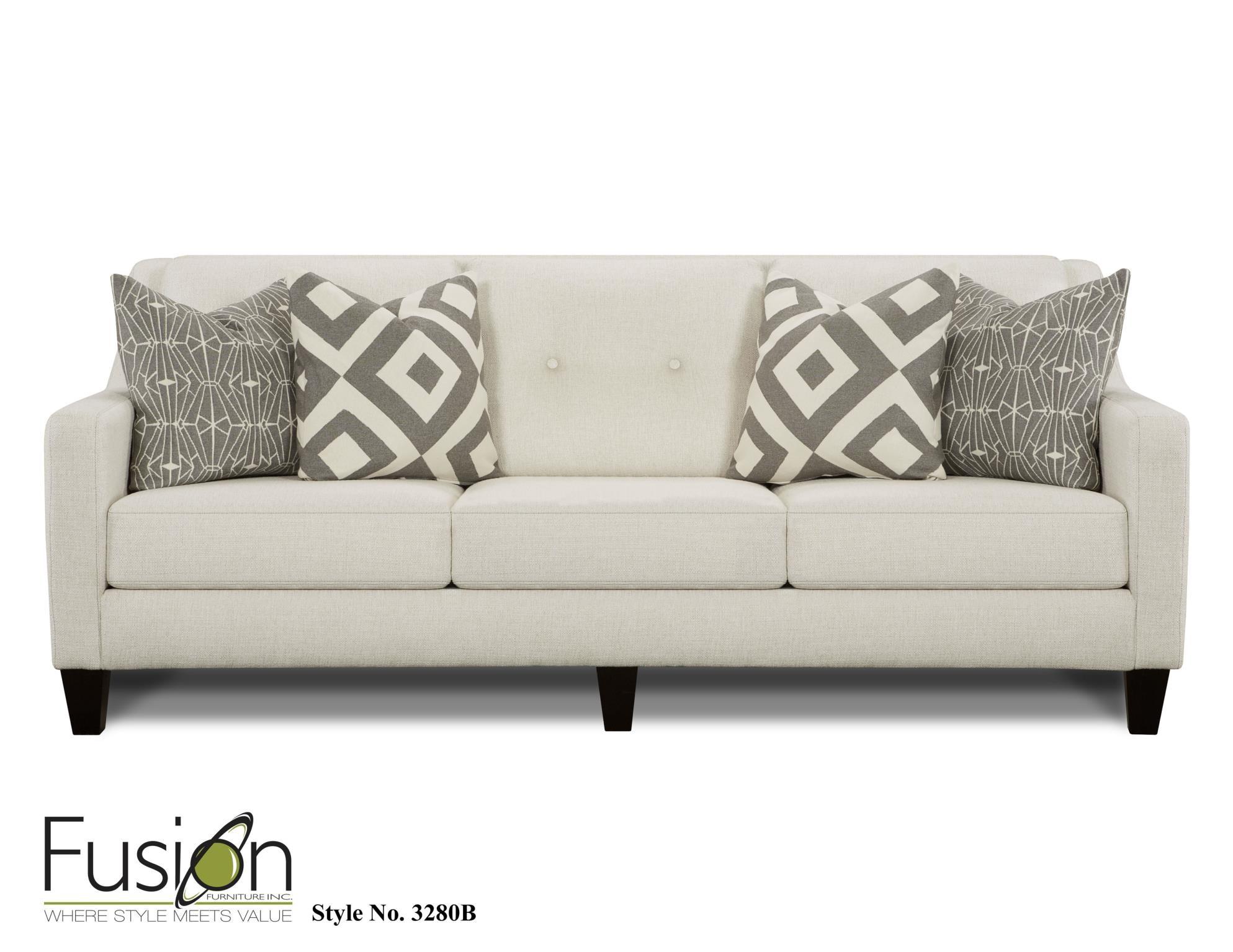 Fusion Sofa 3280BSugarshack Glacier