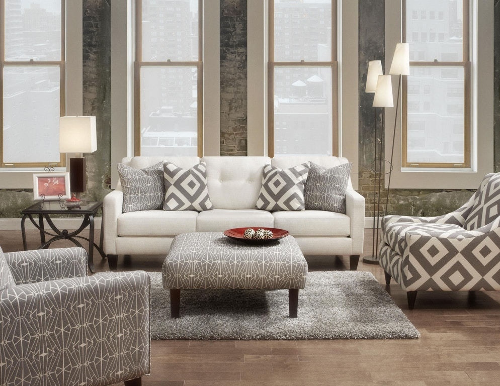 Fusion Living Room The 3280b Sugarshack Glacier At Hennen Furniture