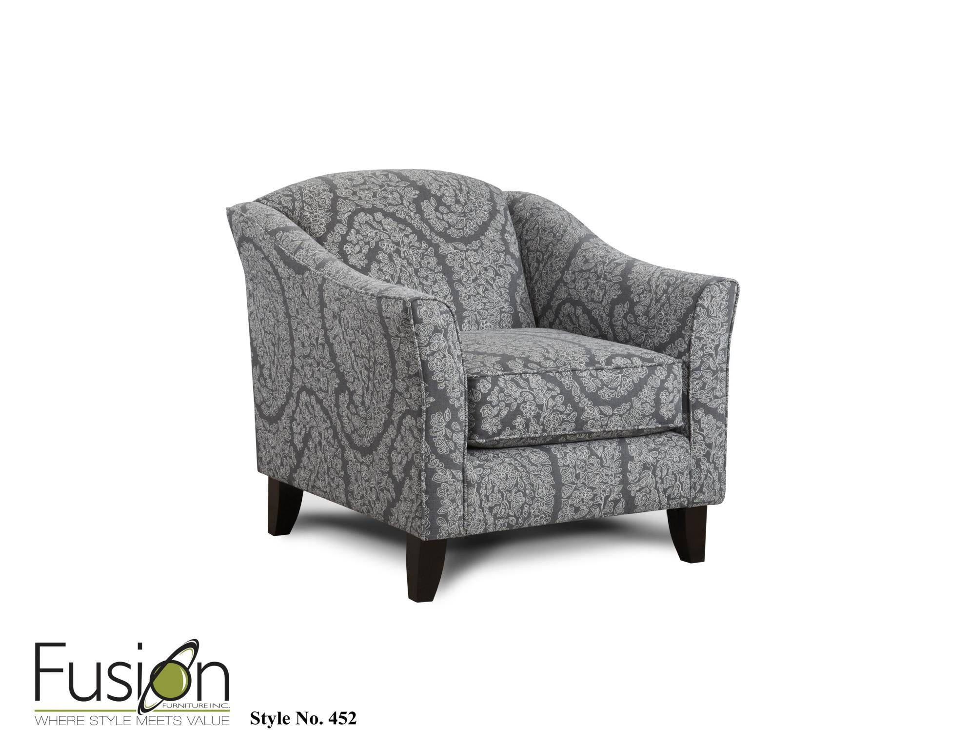 The 2310 KP Chalet Platinum Chair 452ELLA PEWTER