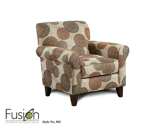 The 9720 Cornell Cocoa Chair 502Chrysanthmum Umber