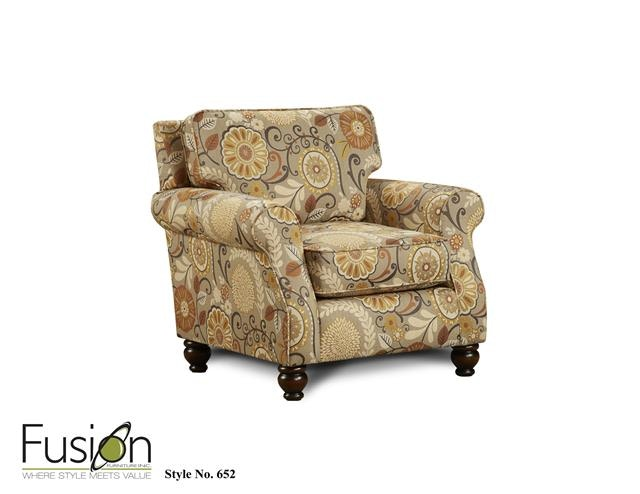 The 3110 Out West Linen Chair 652Karina Espresso