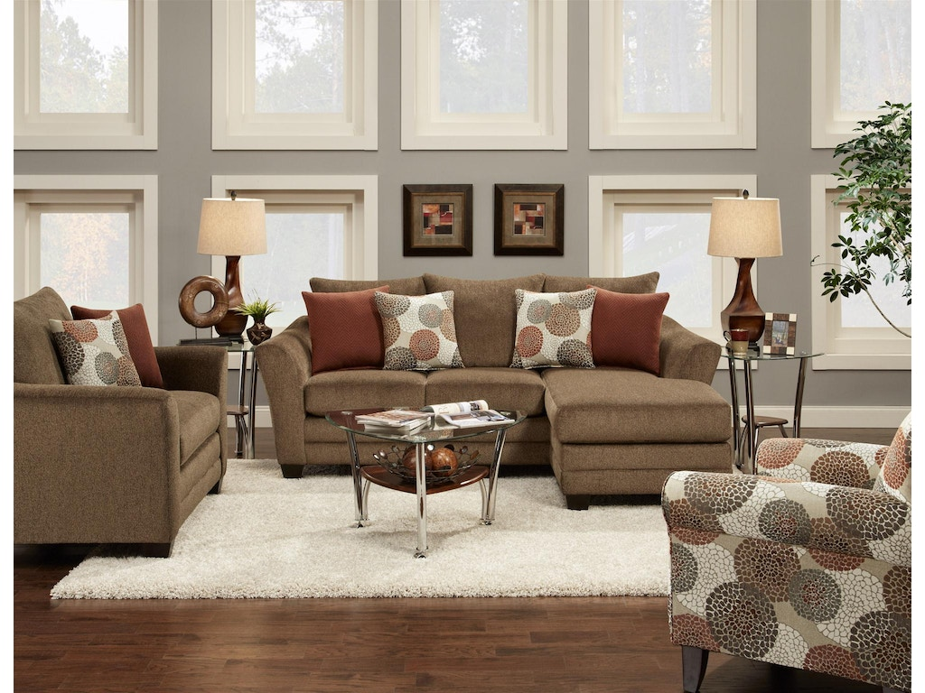 Fusion Living Room Chair 9722cornell Cocoa B F Myers