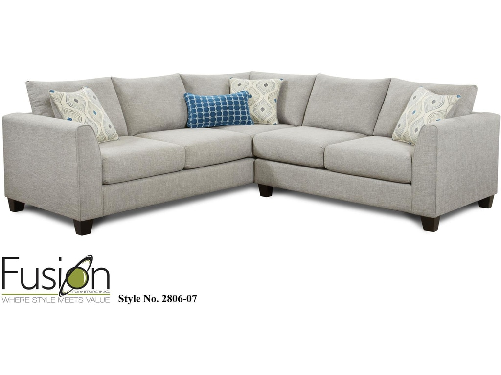 Fusion Living Room THE 2806 PARADIGM QUARTZ - B.F. Myers Furniture ...