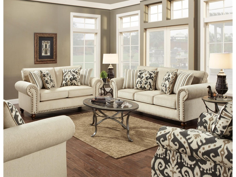 Fusion Living Room Chair 1 2 3112fairly Sand At Anderson Furniture Company