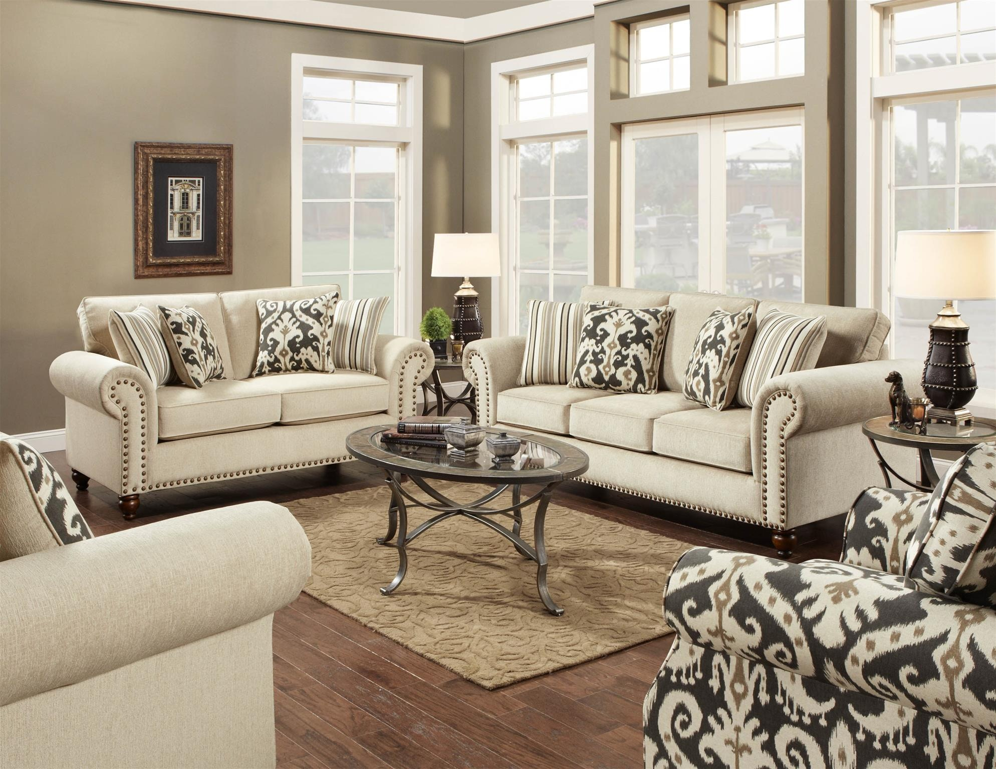 Charmant Fusion Living Room Chair 1/2 3112Fairly Sand At B.F. Myers Furniture
