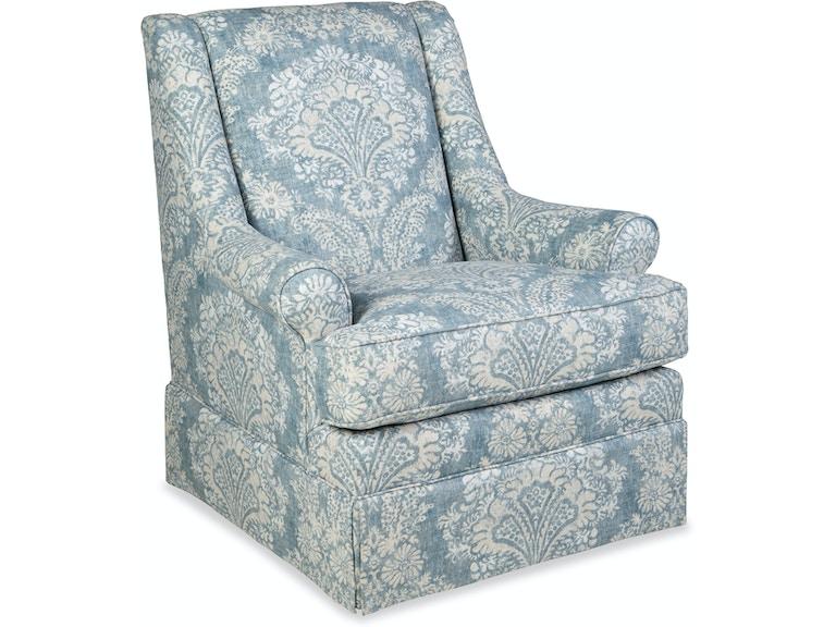 Paula Deen By Craftmaster Living Room Swivel Glider Chair - Swivel glider chairs living room