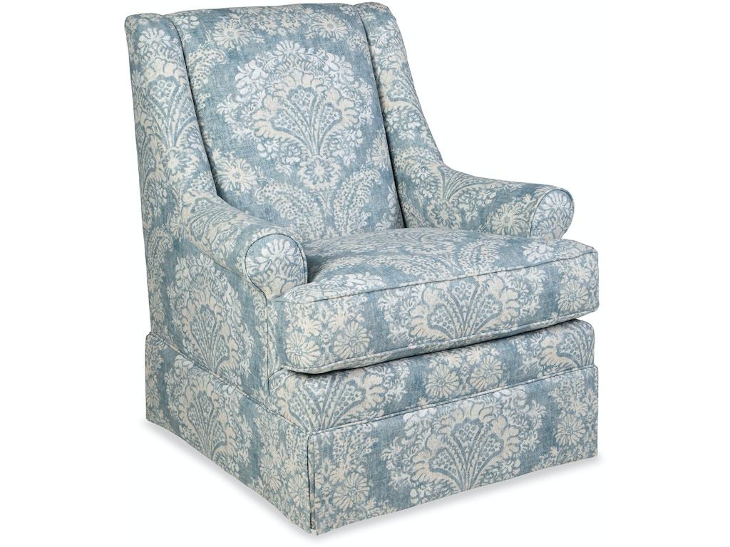 Paula Deen By Craftmaster Living Room Swivel Glider Chair
