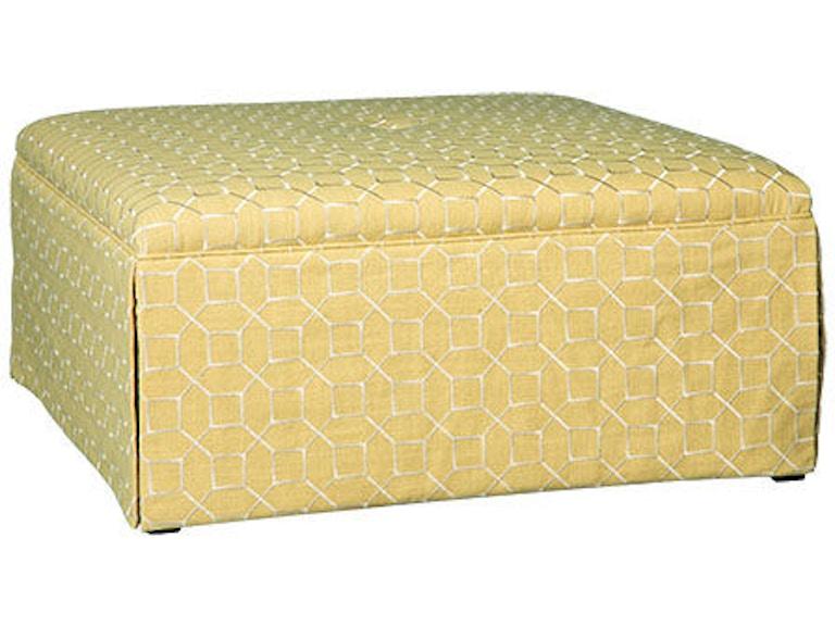 Paula Deen By Craftmaster Living Room Ottoman P068900