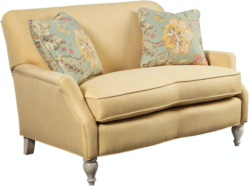 Paula Deen By Craftmaster Living Room Settee P073030bd Seaside Furniture Toms River Brick