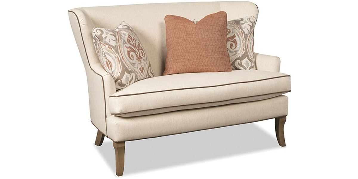 Paula Deen By Craftmaster Living Room Settee P095030bd At Knox Furniture